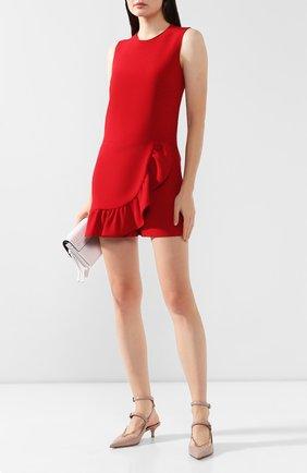 Женский комбинезон REDVALENTINO красного цвета, арт. SR0VEA70/2EU | Фото 2