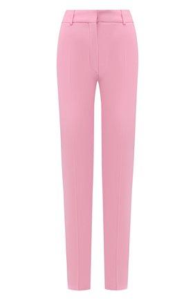 Женские брюки VICTORIA BECKHAM светло-розового цвета, арт. TR SLM 21005B | Фото 1