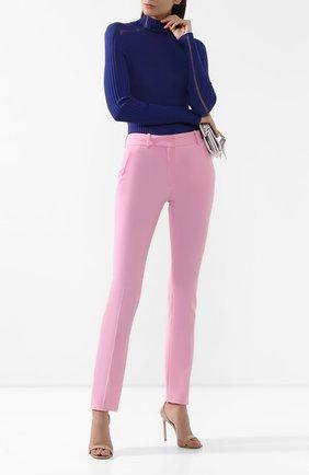 Женские брюки VICTORIA BECKHAM светло-розового цвета, арт. TR SLM 21005B | Фото 2