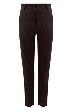 Женские кашемировые брюки LORO PIANA коричневого цвета, арт. FAI8499   Фото 1