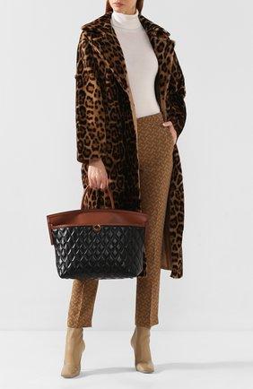Женская сумка society BURBERRY черного цвета, арт. 8020862   Фото 2