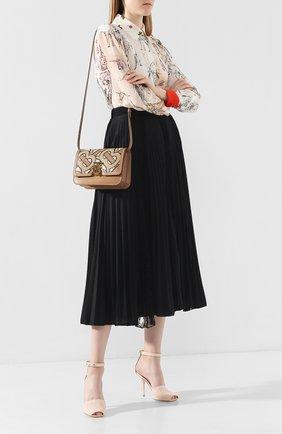 Женская сумка tb bag BURBERRY бежевого цвета, арт. 8015973   Фото 2