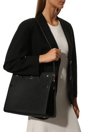 Женская сумка title BURBERRY черного цвета, арт. 8014783   Фото 2