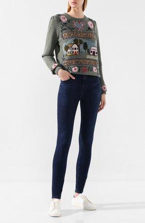 Женские джинсы J BRAND синего цвета, арт. JB001690/A | Фото 2