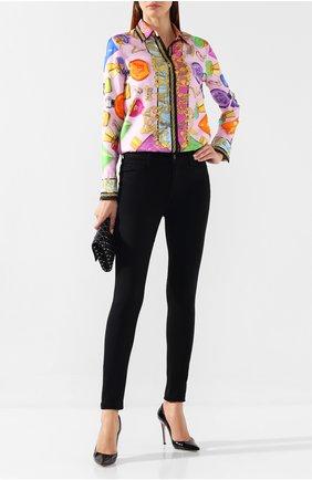 Женские джинсы J BRAND черного цвета, арт. 231100294 | Фото 2
