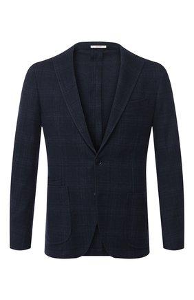 Пиджак из смеси хлопка и шерсти   Фото №1
