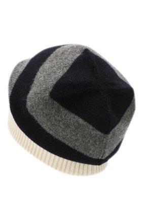 Мужская шерстяная шапка MONCLER белого цвета, арт. E2-091-99282-00-A9225 | Фото 2
