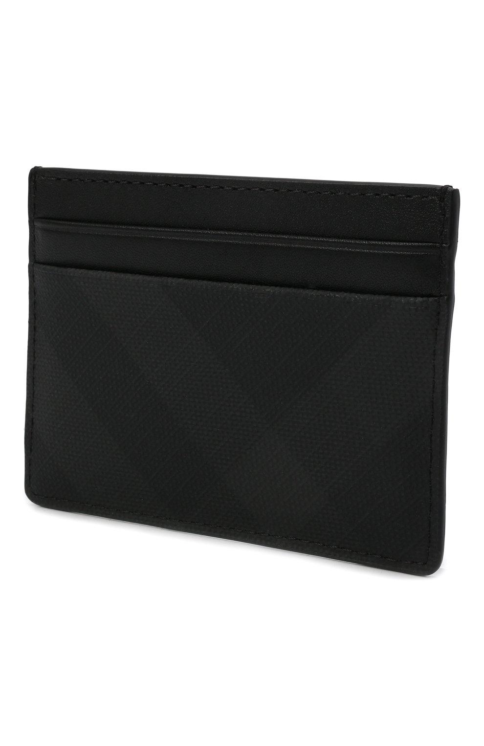 Мужской футляр для кредитных карт BURBERRY темно-серого цвета, арт. 8014485   Фото 2