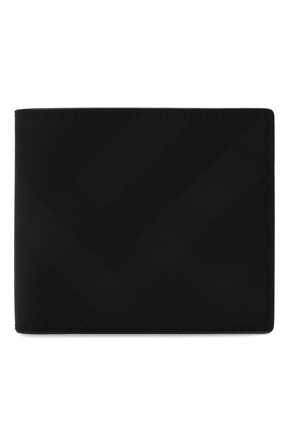 Мужской портмоне BURBERRY темно-серого цвета, арт. 8014481 | Фото 1