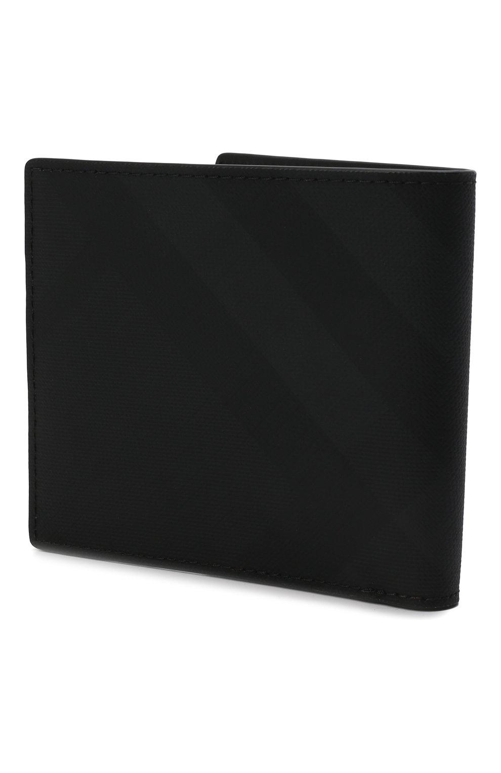 Мужской портмоне BURBERRY темно-серого цвета, арт. 8014481 | Фото 2