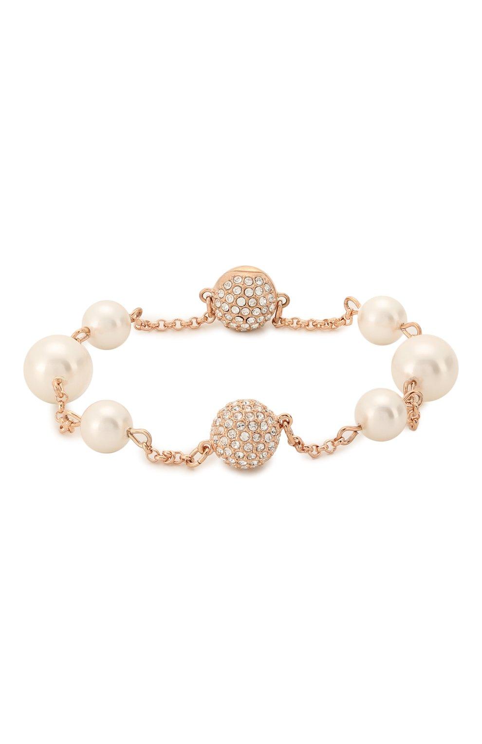 Женский браслет round pearl strand SWAROVSKI золотого цвета, арт. 5373260 | Фото 1