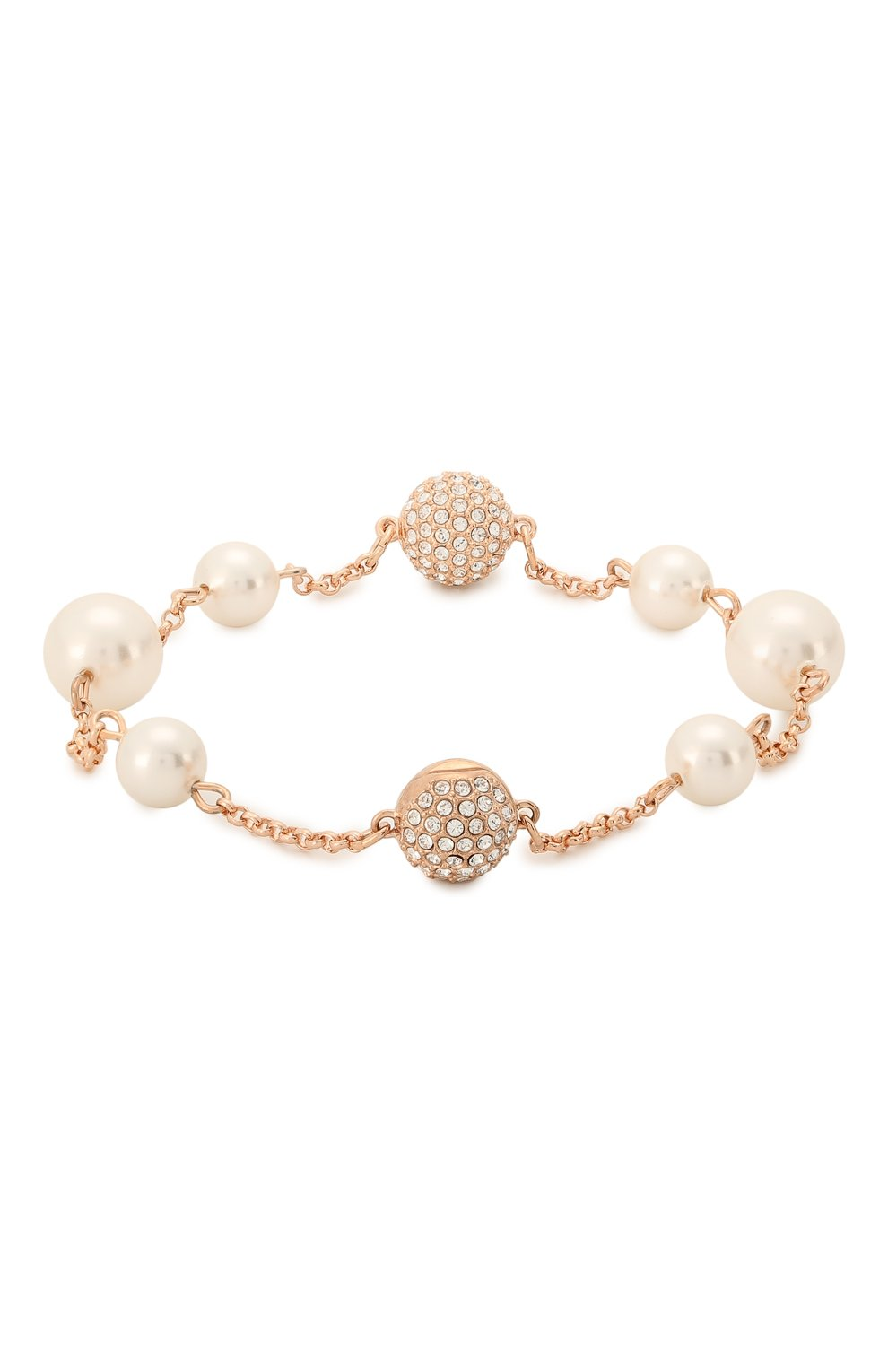 Женский браслет round pearl strand SWAROVSKI золотого цвета, арт. 5373260 | Фото 2