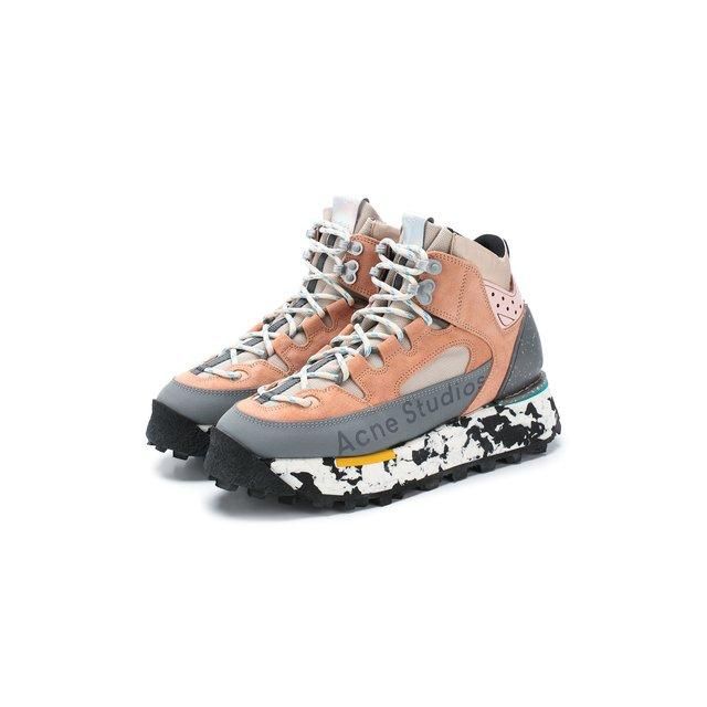 Комбинированные кроссовки Acne Studios — Комбинированные кроссовки