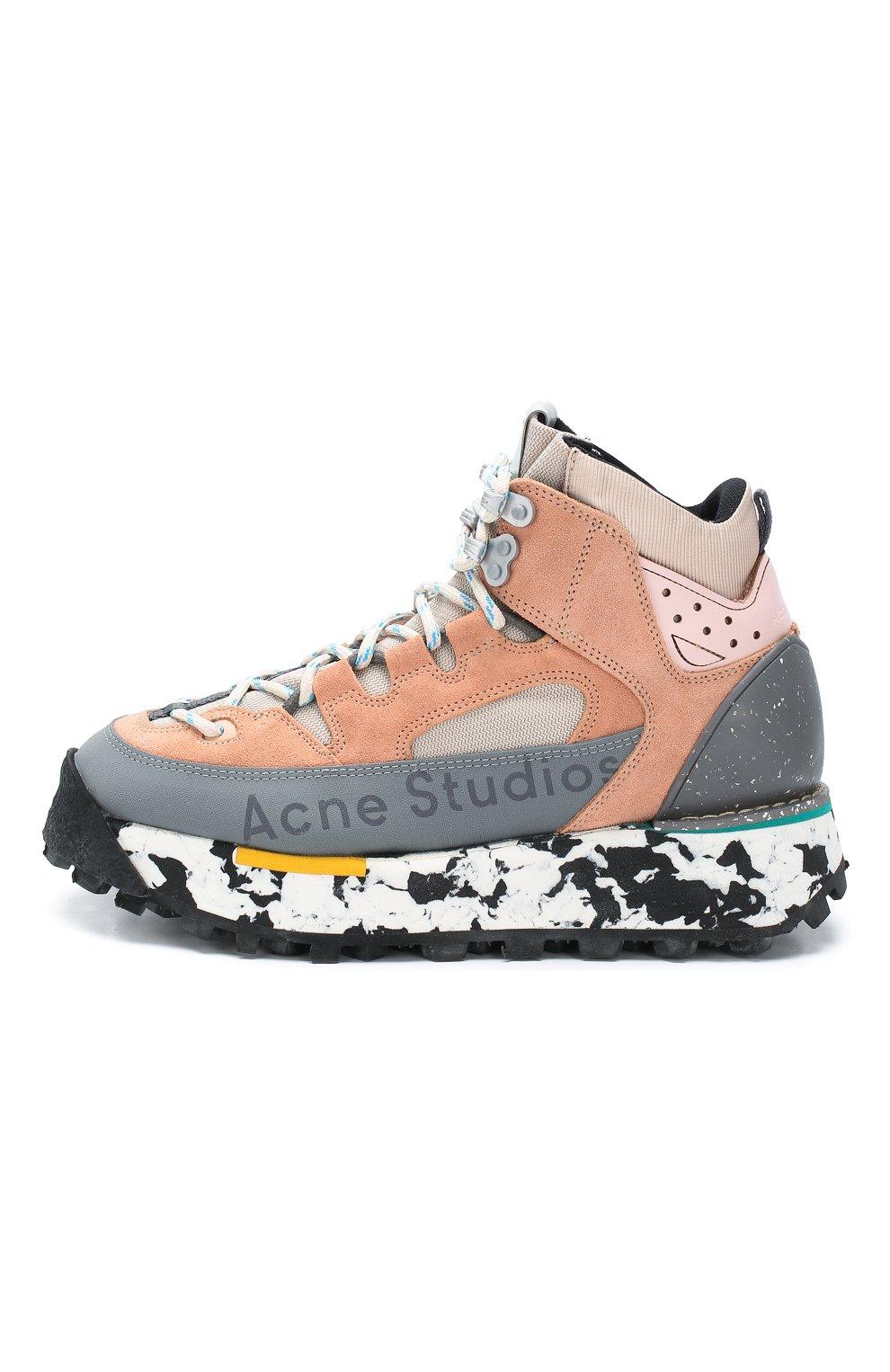 Комбинированные кроссовки | Фото №3