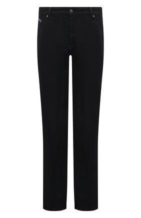Мужские джинсы PAUL&SHARK синего цвета, арт. C0P4004R | Фото 1
