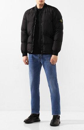 Мужские кожаные кроссовки H`D`S`N BARACCO черного цвета, арт. 0RI0NE.M.0 | Фото 2
