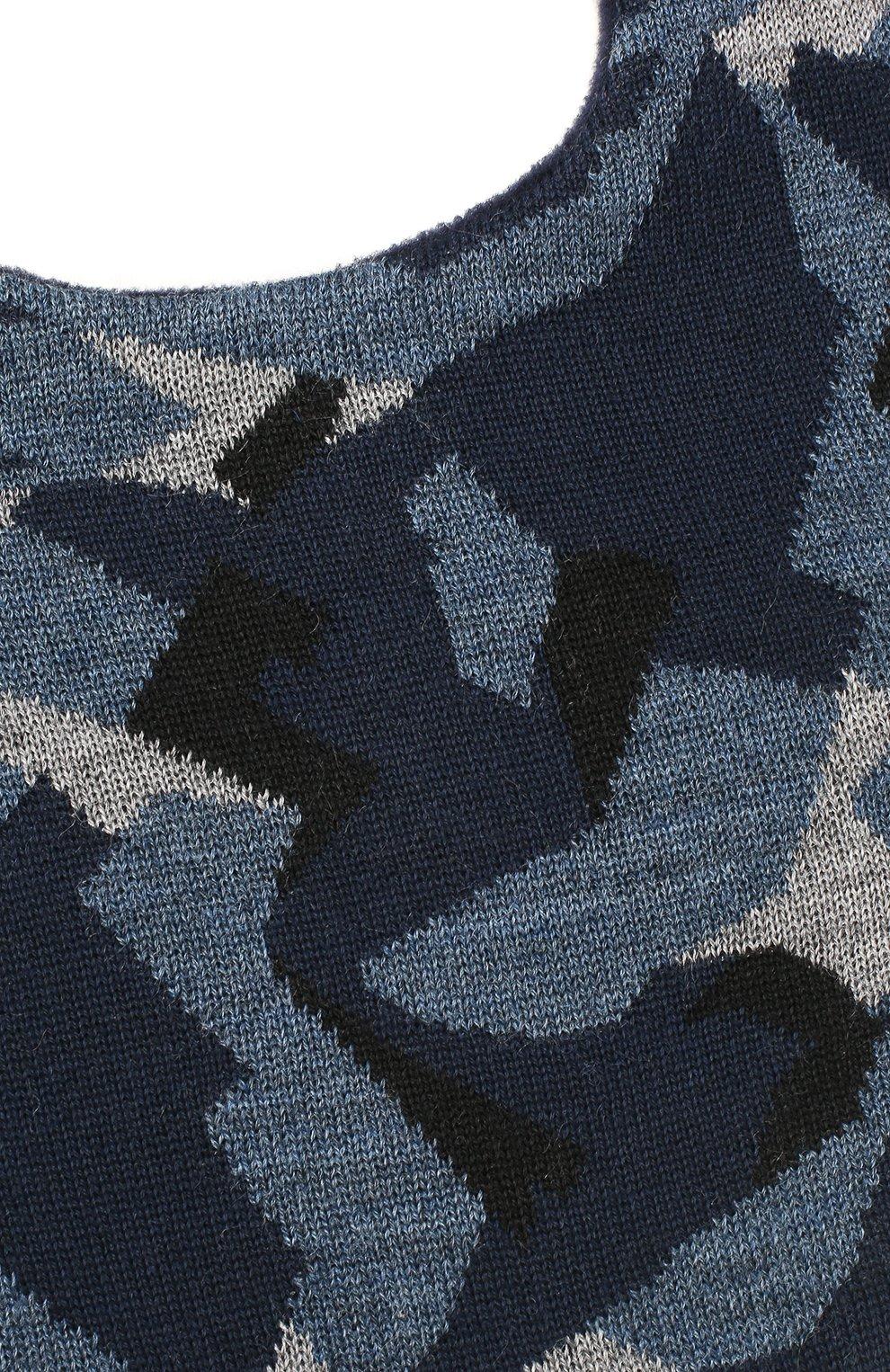 Детского шапка-балаклава everest CANOE темно-синего цвета, арт. 5911141.54 | Фото 3