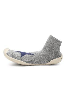 Детского домашняя обувь COLLEGIEN серого цвета, арт. 956D/36-39 | Фото 2