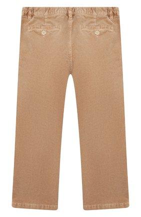 Детские вельветовые брюки IL GUFO бежевого цвета, арт. A19PL133V6005/2A-4A | Фото 2