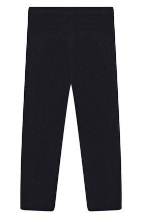 Детского кашемировые брюки IL GUFO темно-синего цвета, арт. A19PL115EM300/2A-4A | Фото 1