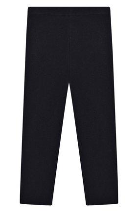 Детского кашемировые брюки IL GUFO темно-синего цвета, арт. A19PL115EM300/2A-4A | Фото 2