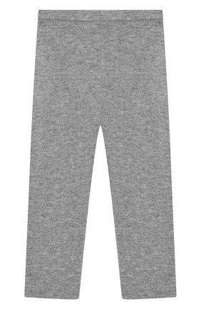 Детского кашемировые брюки IL GUFO серого цвета, арт. A19PL115EM300/2A-4A | Фото 1
