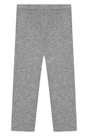 Детского кашемировые брюки IL GUFO серого цвета, арт. A19PL115EM300/2A-4A | Фото 2