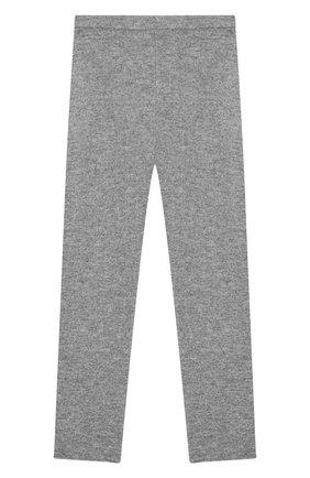 Детского кашемировые брюки IL GUFO серого цвета, арт. A19PL115EM300/10A-12A | Фото 1