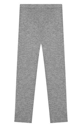 Детского кашемировые брюки IL GUFO серого цвета, арт. A19PL115EM300/10A-12A | Фото 2