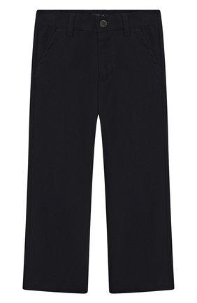Детские брюки IL GUFO темно-синего цвета, арт. A19PL088WR003/2А-4А | Фото 1