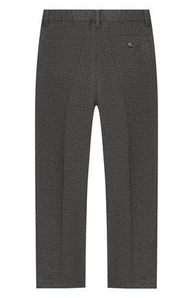 Детские брюки IL GUFO серого цвета, арт. A19PL088WR003/2А-4А | Фото 2