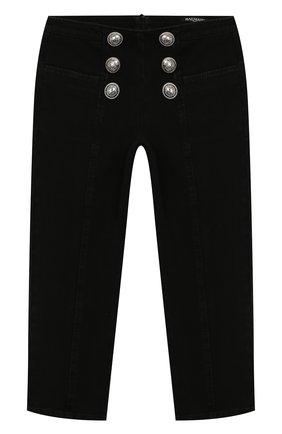 Детские джинсы BALMAIN серого цвета, арт. 6L6030/LB020/4-10 | Фото 1