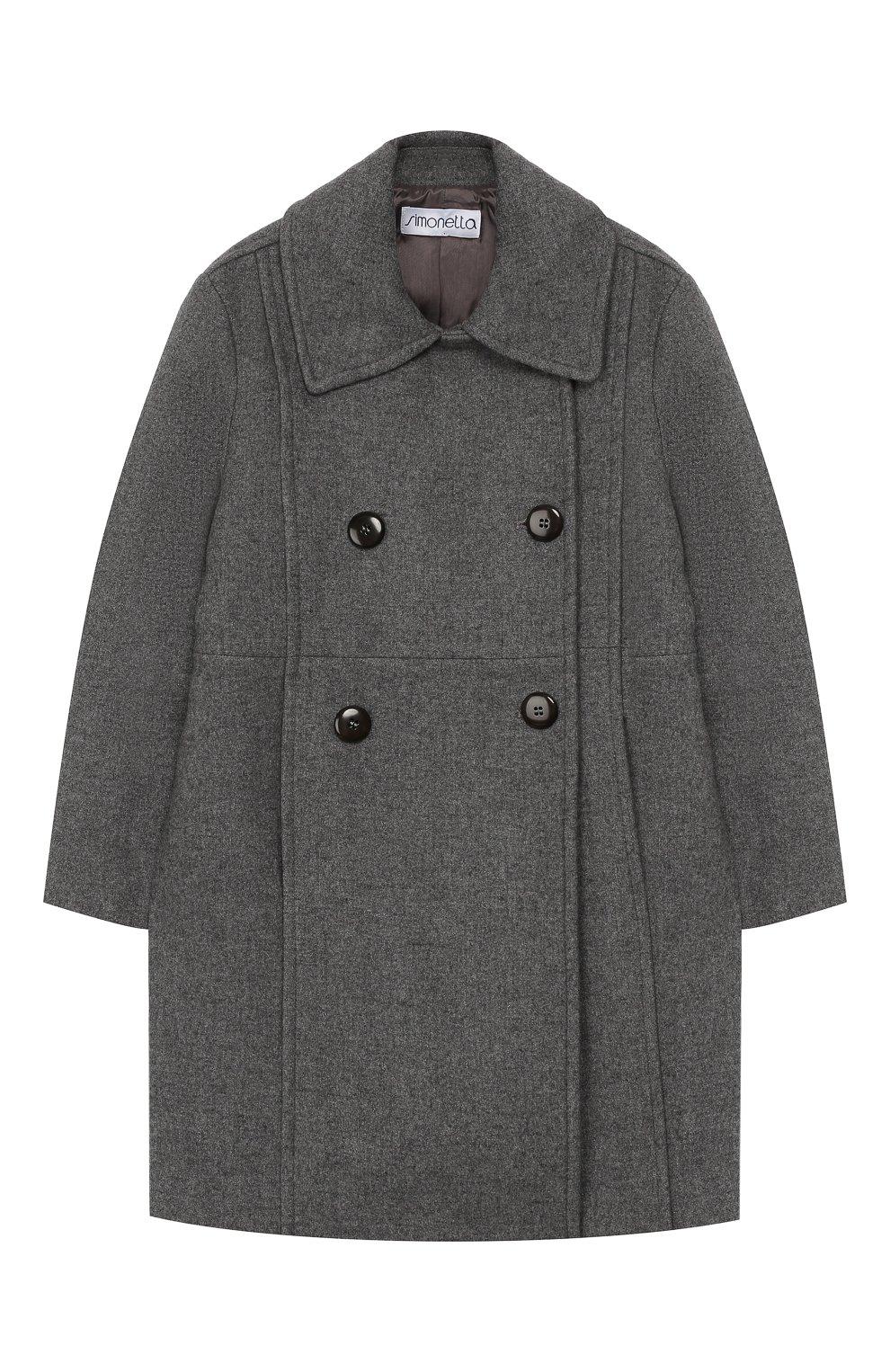 Двубортное пальто из шерсти | Фото №1
