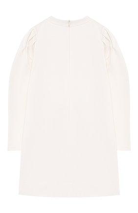 Детское платье SIMONETTA белого цвета, арт. 1L1240/LA300/5-8 | Фото 2
