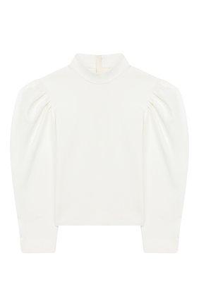 Детское блузка UNLABEL белого цвета, арт. TEIK0-1/15-IN304/12A-16A | Фото 1