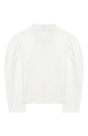 Детское блузка UNLABEL белого цвета, арт. TEIK0-1/15-IN304/12A-16A | Фото 2