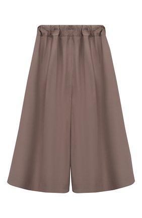 Детского укороченные брюки UNLABEL коричневого цвета, арт. MEI-3/08-IN403/12A-16A | Фото 2
