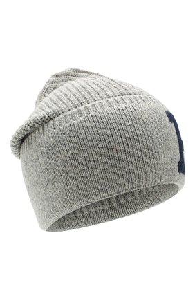 Детского шапка POLO RALPH LAUREN серого цвета, арт. 323751642 | Фото 1