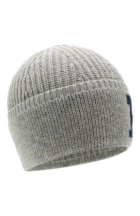 Детского шапка POLO RALPH LAUREN серого цвета, арт. 322751642 | Фото 1