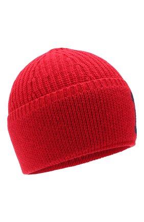Детского шапка POLO RALPH LAUREN красного цвета, арт. 322751642 | Фото 1