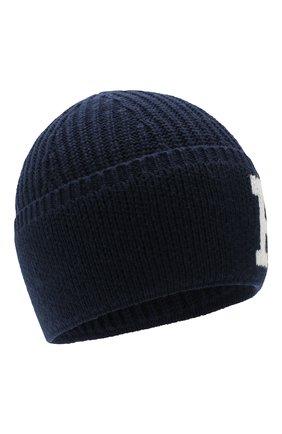 Детского шапка POLO RALPH LAUREN темно-синего цвета, арт. 322751642 | Фото 1
