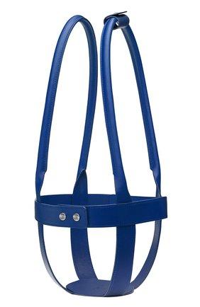 Мужского кожаный держатель для набора mood CHRISTOFLE синего цвета, арт. 07753297 | Фото 1