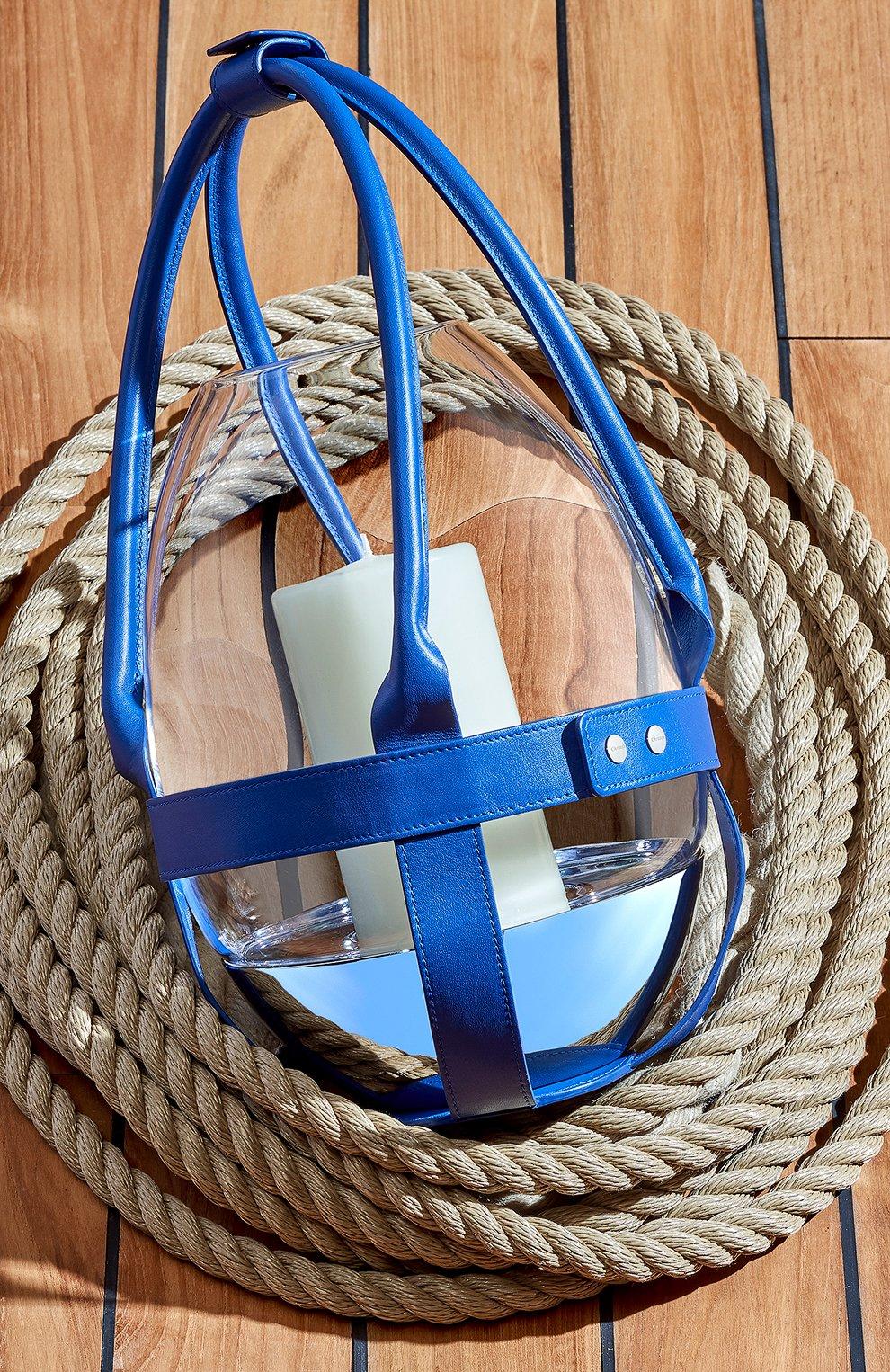 Мужского кожаный держатель для набора mood CHRISTOFLE синего цвета, арт. 07753297 | Фото 4