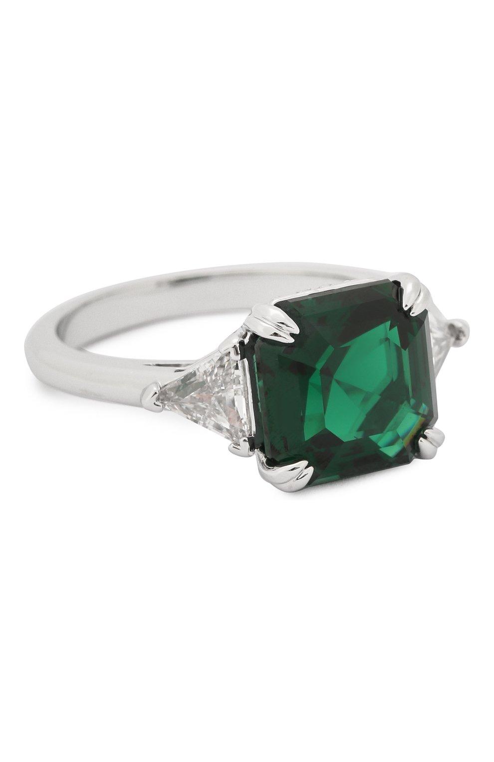 Женское кольцо attract SWAROVSKI зеленого цвета, арт. 5515708   Фото 1