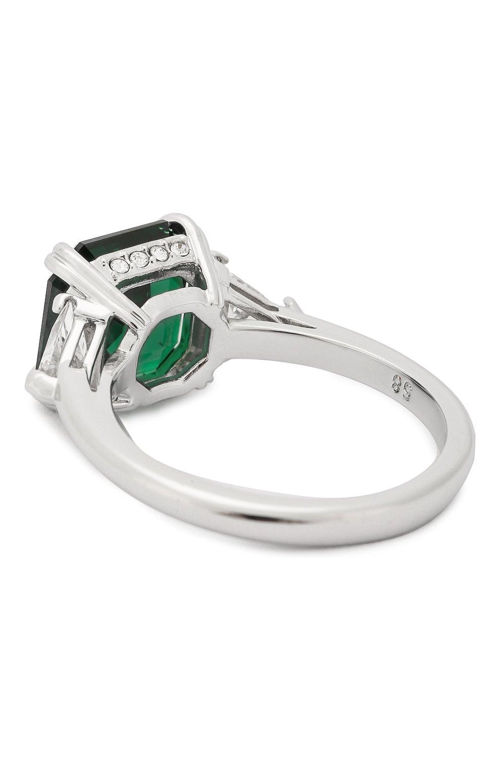 Женское кольцо attract SWAROVSKI зеленого цвета, арт. 5515708   Фото 2