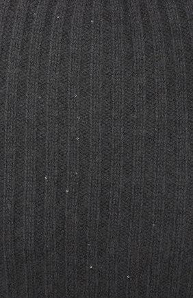 Женская шапка RE VERA темно-серого цвета, арт. 19201068 | Фото 3