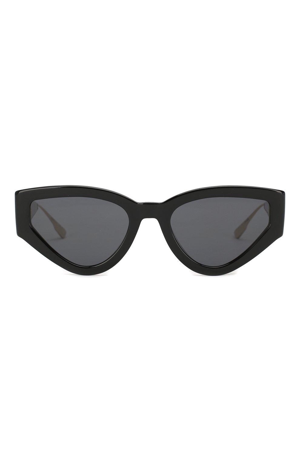 Женские солнцезащитные очки DIOR черного цвета, арт. CATSTYLEDI0R1 807 | Фото 3