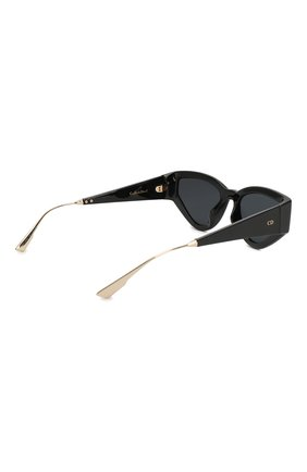 Женские солнцезащитные очки DIOR черного цвета, арт. CATSTYLEDI0R1 807 | Фото 4