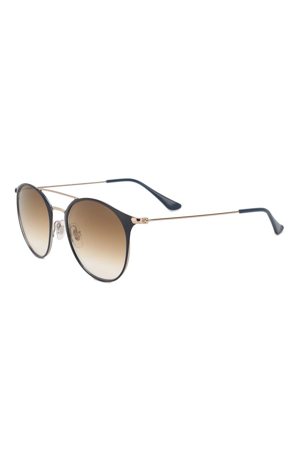 Женские солнцезащитные очки RAY-BAN коричневого цвета, арт. 3546-917551 | Фото 1