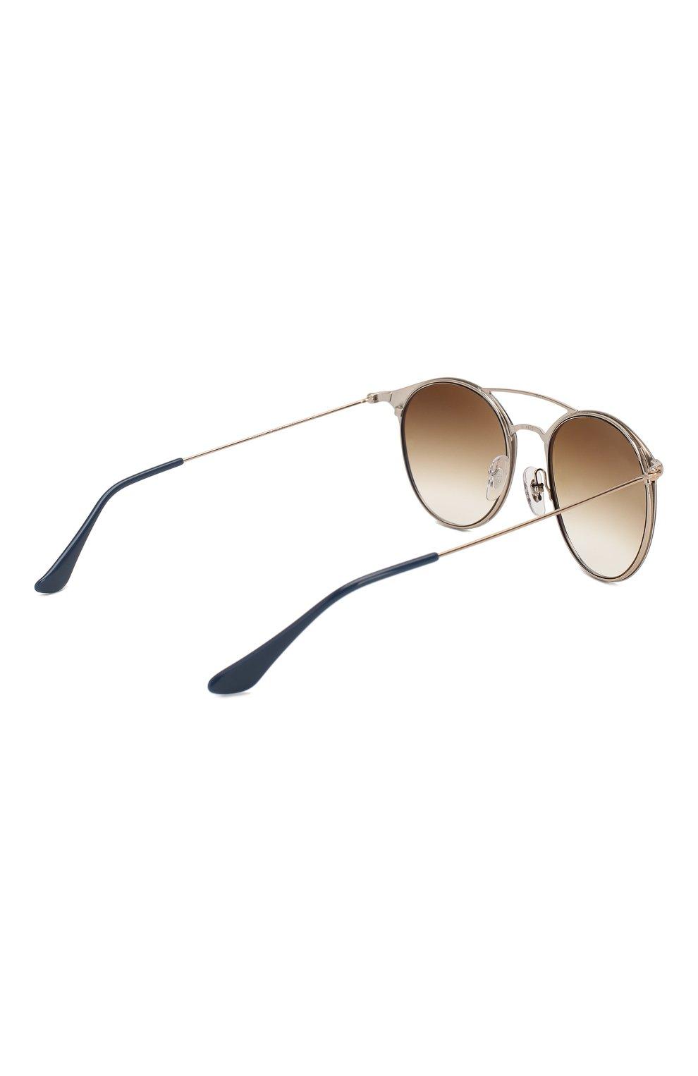 Женские солнцезащитные очки RAY-BAN коричневого цвета, арт. 3546-917551 | Фото 4
